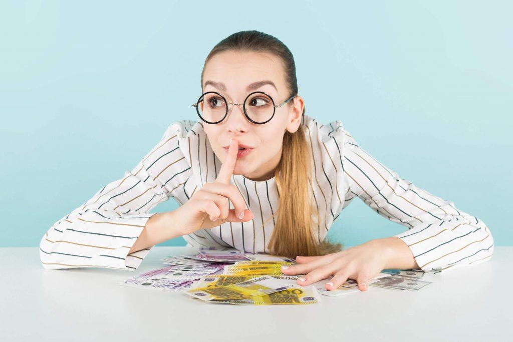 rahasta ei saa puhua